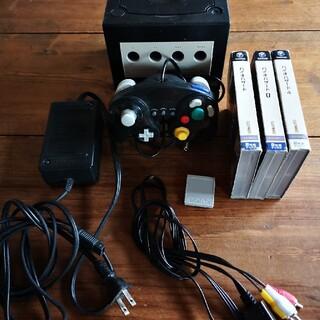 ニンテンドーゲームキューブ(ニンテンドーゲームキューブ)のゲームキューブ バイオハザード 一式(家庭用ゲーム機本体)