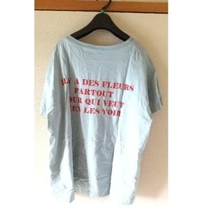 イエナ(IENA)のIENA イエナ backLogo Tシャツ(Tシャツ(半袖/袖なし))