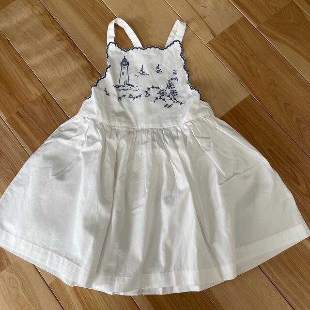 POLO RALPH LAUREN(ポロラルフローレン)のラルフローレン フレアワンピース 80 キッズ/ベビー/マタニティのベビー服(~85cm)(ワンピース)の商品写真