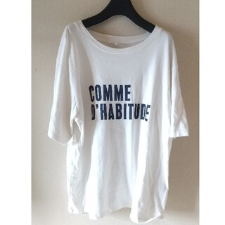 IENA - IENA イエナ COMME DHABITUDE Tシャツ