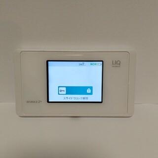 エヌイーシー(NEC)のNEC Speed Wi-Fi NEXT WX05 ピュアホワイト(PC周辺機器)