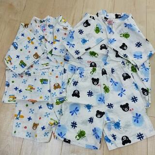 ミキハウス(mikihouse)のミキハウス ダブルB  甚平 100(甚平/浴衣)