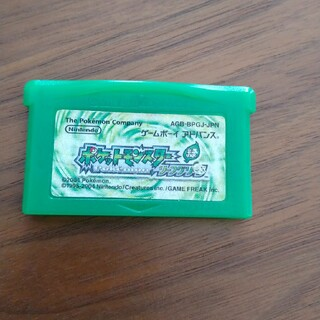 ニンテンドウ(任天堂)のゲームボーイアドバンス ポケモン(携帯用ゲームソフト)