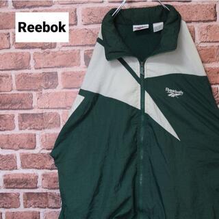 Reebok - 《リーボック》オールドタグ グリーン ビッグサイズ ワンポイント刺繡ロゴ