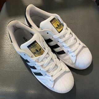adidas - adidas アディダス スニーカー SUPERSTAR 白 黒 スーパースター