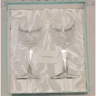 Tiffany & Co. - Tiffany ペア ワイングラス 新品 未使用