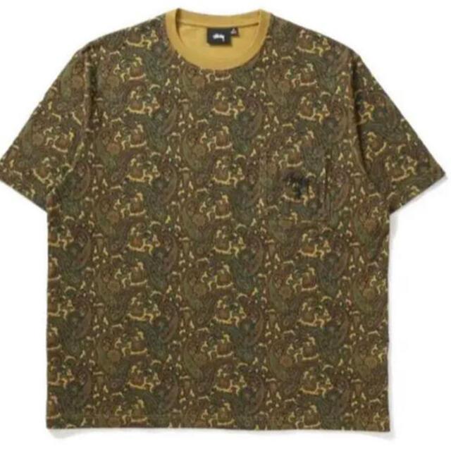 STUSSY(ステューシー)のSTUSSY × UNION PAISLEY POCKET CREW XL メンズのトップス(Tシャツ/カットソー(半袖/袖なし))の商品写真