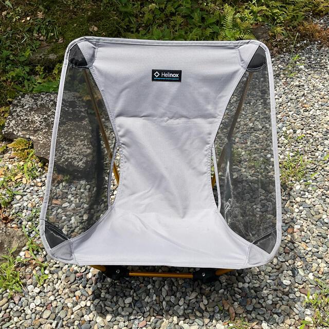 ヘリノックス Helinox グラウンドチェア グレー  スポーツ/アウトドアのアウトドア(テーブル/チェア)の商品写真