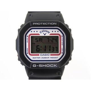 G-SHOCK - G-SHOCK×Callaway DW-5600 コラボ腕時計 極美品