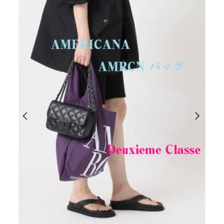 DEUXIEME CLASSE - Deuxieme Classe♡AMERICANA♡AMRCN バッグ♡パープル