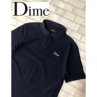 Supreme - Dime ポロシャツ ネイビー Lサイズ