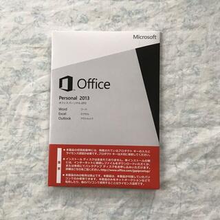 Microsoft - 【開封済み】Microsoft Office Personal 2013・OEM
