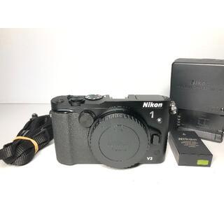 ニコン(Nikon)の僅か4645ショット ニコン Nikon1 V3 ボディ(ミラーレス一眼)
