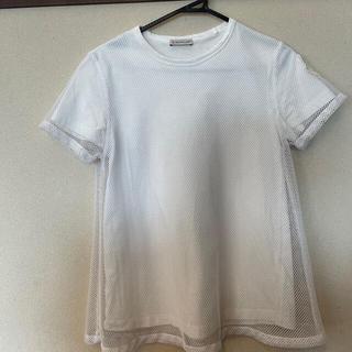 モンクレール(MONCLER)のMONCLER メッシュTシャツ 20SS 半袖Tシャツ xs(Tシャツ(半袖/袖なし))