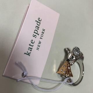 ケイトスペードニューヨーク(kate spade new york)の新品、本物 ケイトスペード ネズミとチーズのリング(リング(指輪))
