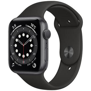 Apple Watch - apple watch 6 44mm ブラック GPSモデル