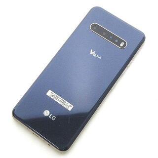 other - ソフトバンク LG V60 ThinQ 2画面スマホ スマートフォン ブルー