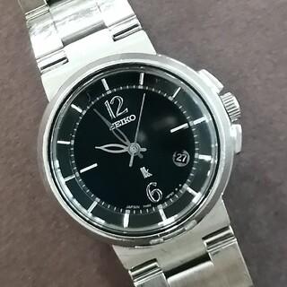 SEIKO - 美品 セイコー  Lk ルキア  ブラック レディース腕時計 電池交換済
