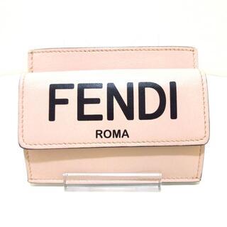 フェンディ(FENDI)のフェンディ コインケース - 8M0423 レザー(コインケース)
