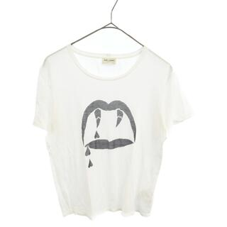 サンローラン(Saint Laurent)のSAINT LAURENT PARIS サンローランパリ 半袖Tシ(Tシャツ/カットソー(半袖/袖なし))