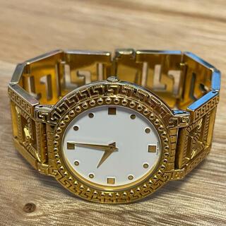 ジャンニヴェルサーチ(Gianni Versace)のジャンニヴェルサーチ G10 ヴィンテージ腕時計 稼働品 VERSACE(腕時計(アナログ))