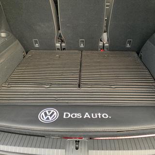 フォルクスワーゲン(Volkswagen)のゴルフトゥーラン用ラゲッジマット合皮 VW(車内アクセサリ)