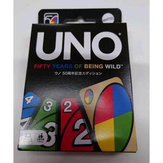 新品未開封!UNO50周年記念エディション 新品未開封☆(トランプ/UNO)