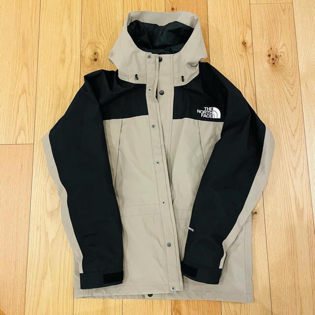 THE NORTH FACE(ザノースフェイス)の極美品 ノースフェイス マウンテンライトジャケット ミネラルグレー メンズのジャケット/アウター(マウンテンパーカー)の商品写真