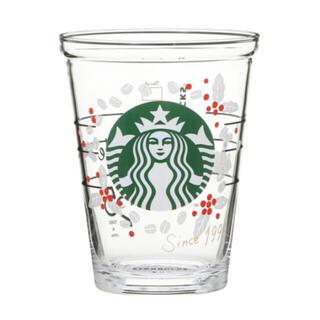 Starbucks Coffee - スターバックス25周年コレクタブルコールドカップグラスコーヒーチェリー414ml