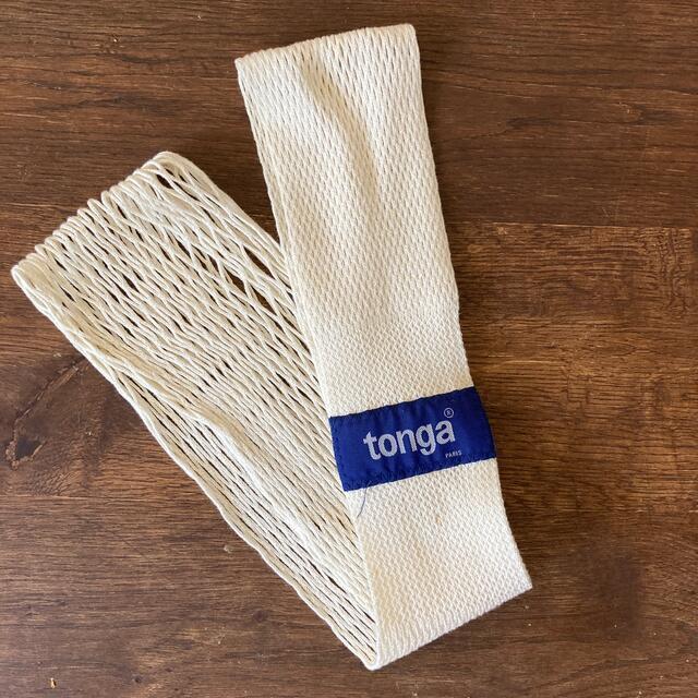 tonga(トンガ)のトンガ  M キッズ/ベビー/マタニティの外出/移動用品(抱っこひも/おんぶひも)の商品写真