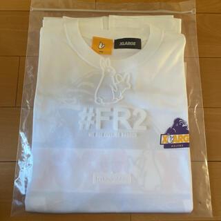 XLARGE - 完売品xlarge fr2 tシャツ 白 M