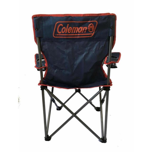 Coleman(コールマン)の【2脚セット】新品未使用 Coleman アームチェア レッド ネイビー スポーツ/アウトドアのアウトドア(テーブル/チェア)の商品写真