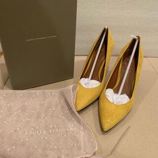 DOUBLE STANDARD CLOTHING - ダブルスタンダードクロージング  スエードパンプス24.5黄色