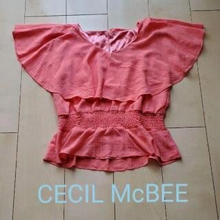セシルマクビー(CECIL McBEE)のセシルマクビー シャツ(シャツ/ブラウス(半袖/袖なし))