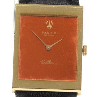 ロレックス(ROLEX)のロレックス チェリーニ K18YG cal.1601  ボーイズ 【中古】(腕時計(アナログ))