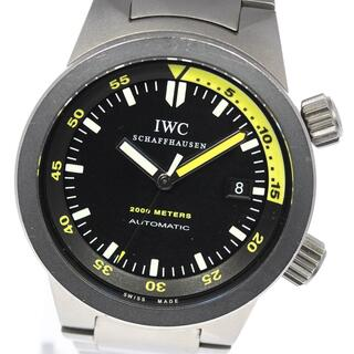 インターナショナルウォッチカンパニー(IWC)の☆良品 IWC アクアタイマー オートマティック2000 メンズ 【中古】(腕時計(アナログ))