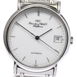 インターナショナルウォッチカンパニー(IWC)のIWC ポートフィノ デイト IW351318 自動巻き メンズ 【中古】(腕時計(アナログ))