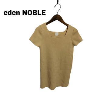 ノーブル(Noble)の【eden NOBLE】スクエアネック カットソー(カットソー(半袖/袖なし))