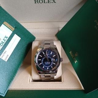 ロレックス(ROLEX)のロレックス スカイドゥエラー ブルー文字盤 326934(腕時計(アナログ))