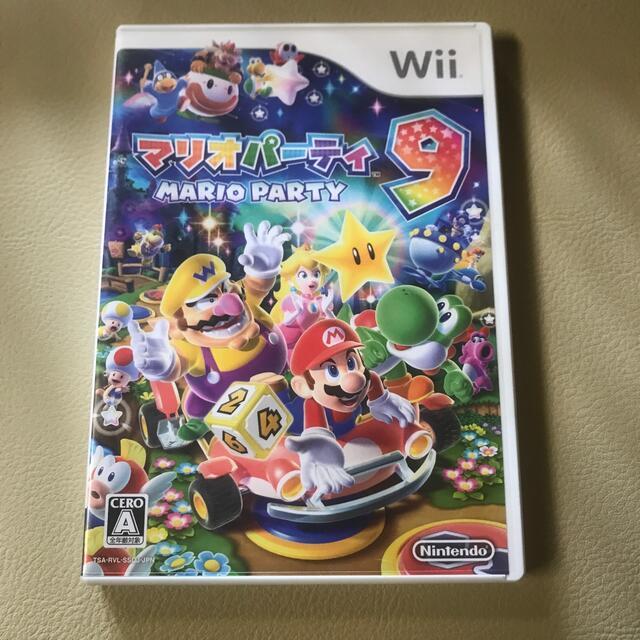 Wii(ウィー)のマリオパーティ9 Wii エンタメ/ホビーのゲームソフト/ゲーム機本体(家庭用ゲームソフト)の商品写真