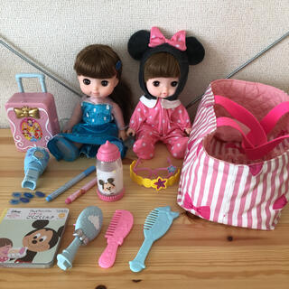 バンダイ(BANDAI)のレミン&ソラン人形本体はじめましてのおせわきほんセットアナ雪ヘアデコセット(ぬいぐるみ/人形)