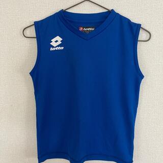 ロット(lotto)の男子130  サッカーアンダーシャツ(ウェア)