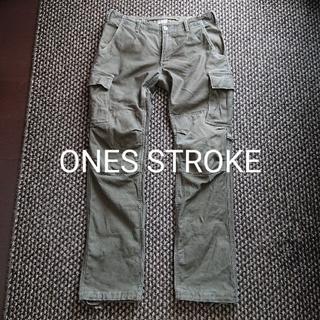 Rick Owens - ONES STROKE ミリタリーカーゴパンツ ワンズストローク ワークパンツ