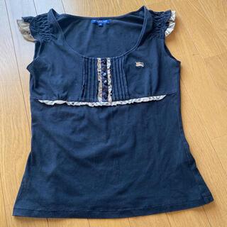 バーバリー(BURBERRY)のバーバリーロンドン Tシャツ ノバチエックフリル ホースマーク刺繍(Tシャツ(半袖/袖なし))