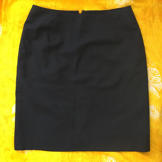 グッチ(Gucci)のグッチ スカート サイズ40 黒 ブラック(ひざ丈スカート)