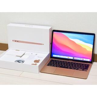 Apple - M1 MacBookAir ゴールド MGND3J/A アップルケア+