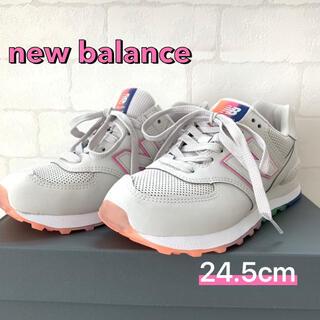 New Balance - 新品!ニューバランスWL574SOL 24.5cm