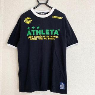 アスレタ(ATHLETA)のATHLETA アスレタ PANTANAL 半袖 Tシャツ サッカー Lサイズ(Tシャツ/カットソー(半袖/袖なし))