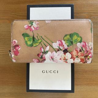 Gucci - GUCCI GGブルームシリーズ(ピンク)長財布