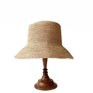 シールームリン(SeaRoomlynn)のNATURAL PAPER HAT(麦わら帽子/ストローハット)